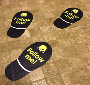 Floor Graphics Are A Great Point Of Sale Product That Can Greatly