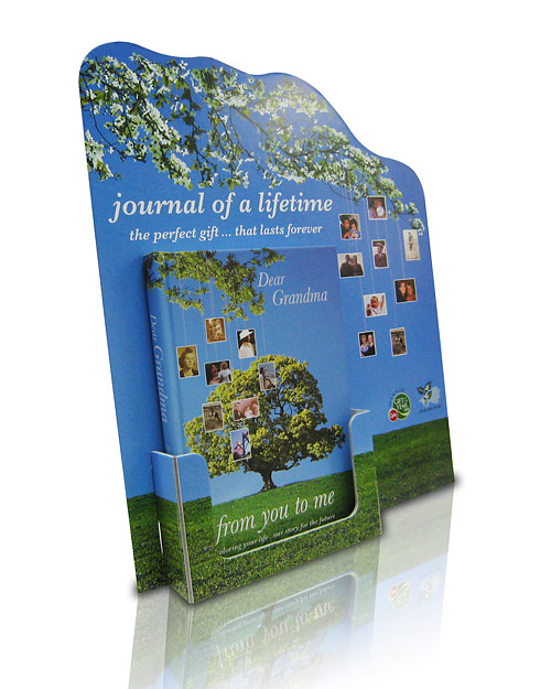 Exhibition Stand Kiosk : Leaflet dispensers that promote your company brand or
