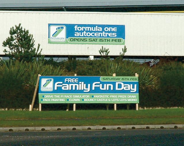 Pvc Vinyl Banners Daytona Visual